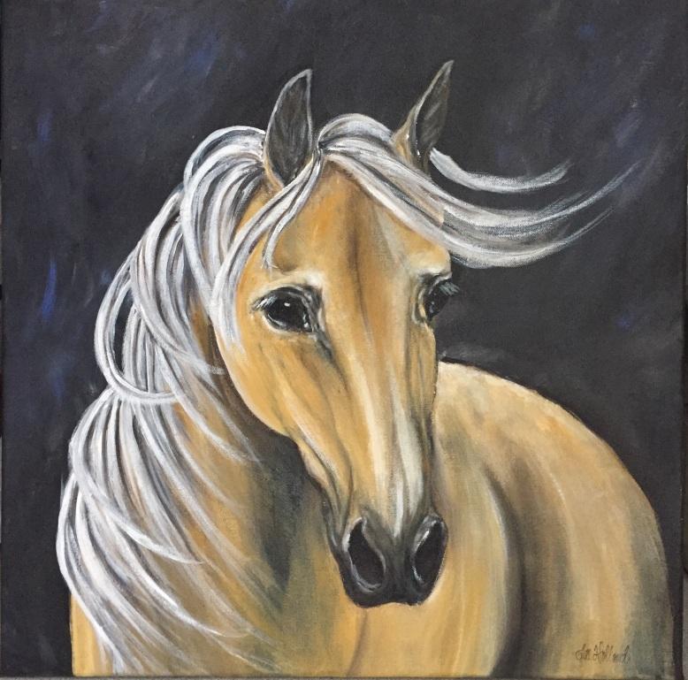 palomino-painting