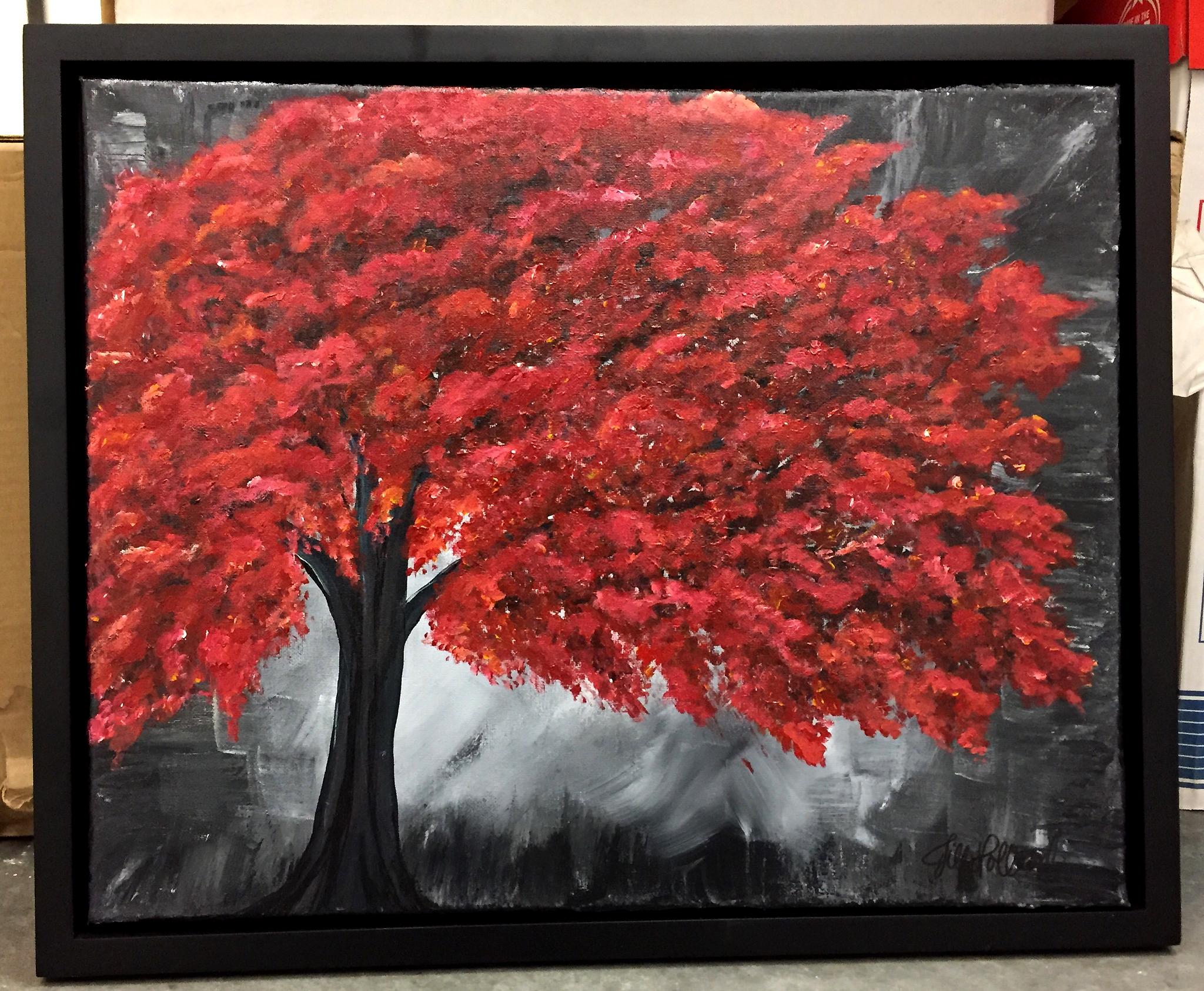 red orange tree